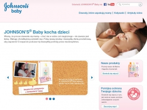 www.johnsonsbaby.com.pl